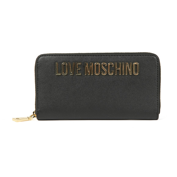 Love Moschino Womens Black Portafogli Purse main image
