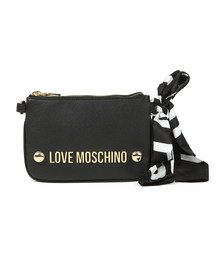 Love Moschino Womens Black Borsa Soft Grain Bag