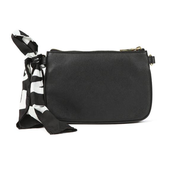 Love Moschino Womens Black Borsa Soft Grain Bag main image