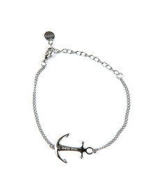 Tom Hope Womens Silver Saint Chain Bracelet