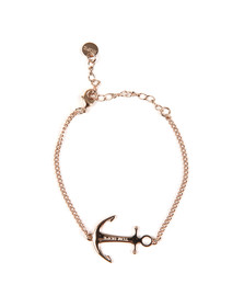 Tom Hope Womens Pink Saint Chain Bracelet