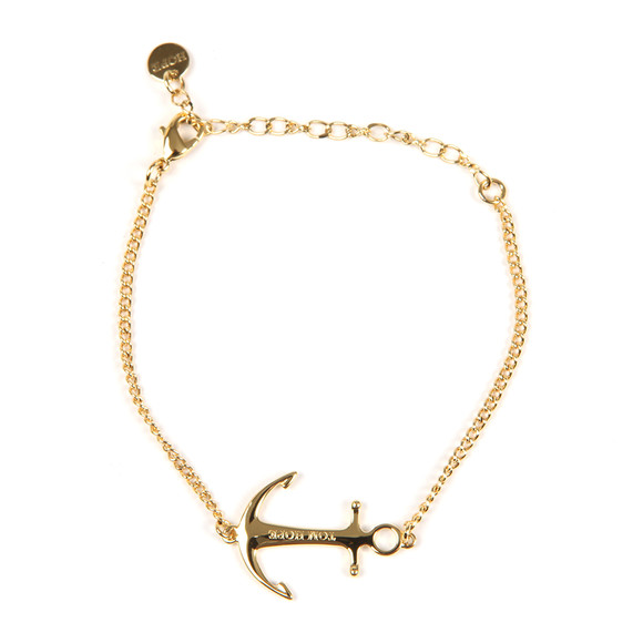 Tom Hope Womens Gold Saint Chain Bracelet main image