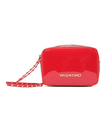 Valentino by Mario Womens Red Ribave Haversack Bag