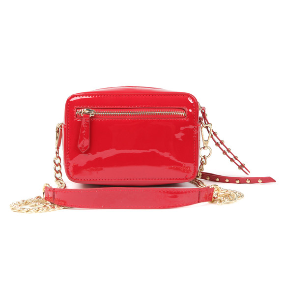 Valentino by Mario Womens Red Ribave Haversack Bag main image