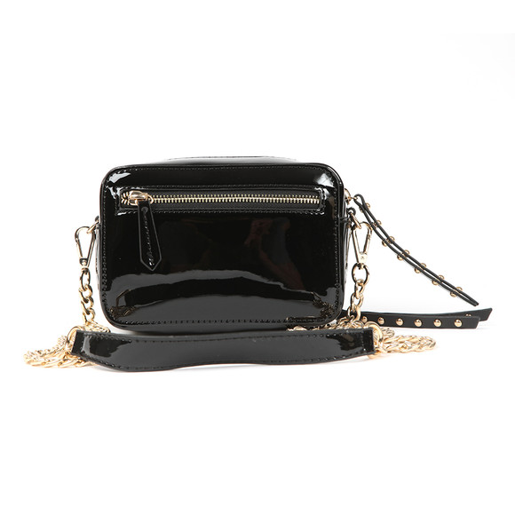 Valentino by Mario Womens Black Ribave Haversack Bag main image
