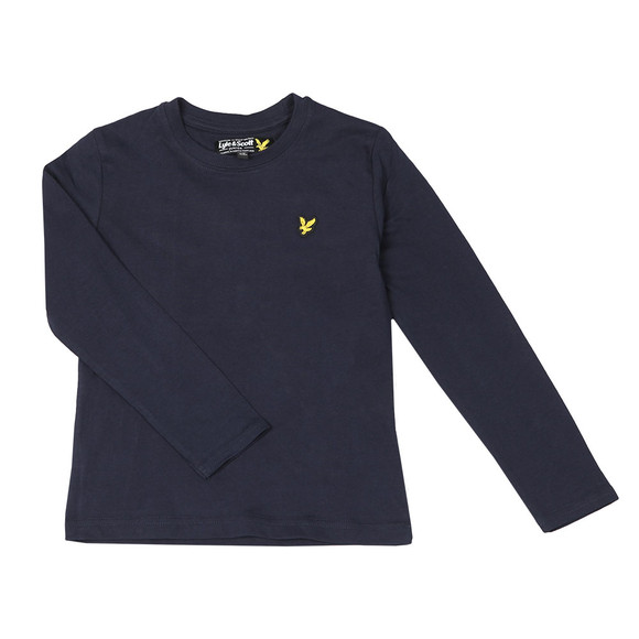 Lyle And Scott Junior Boys Blue Classic Long Sleeve T Shirt main image