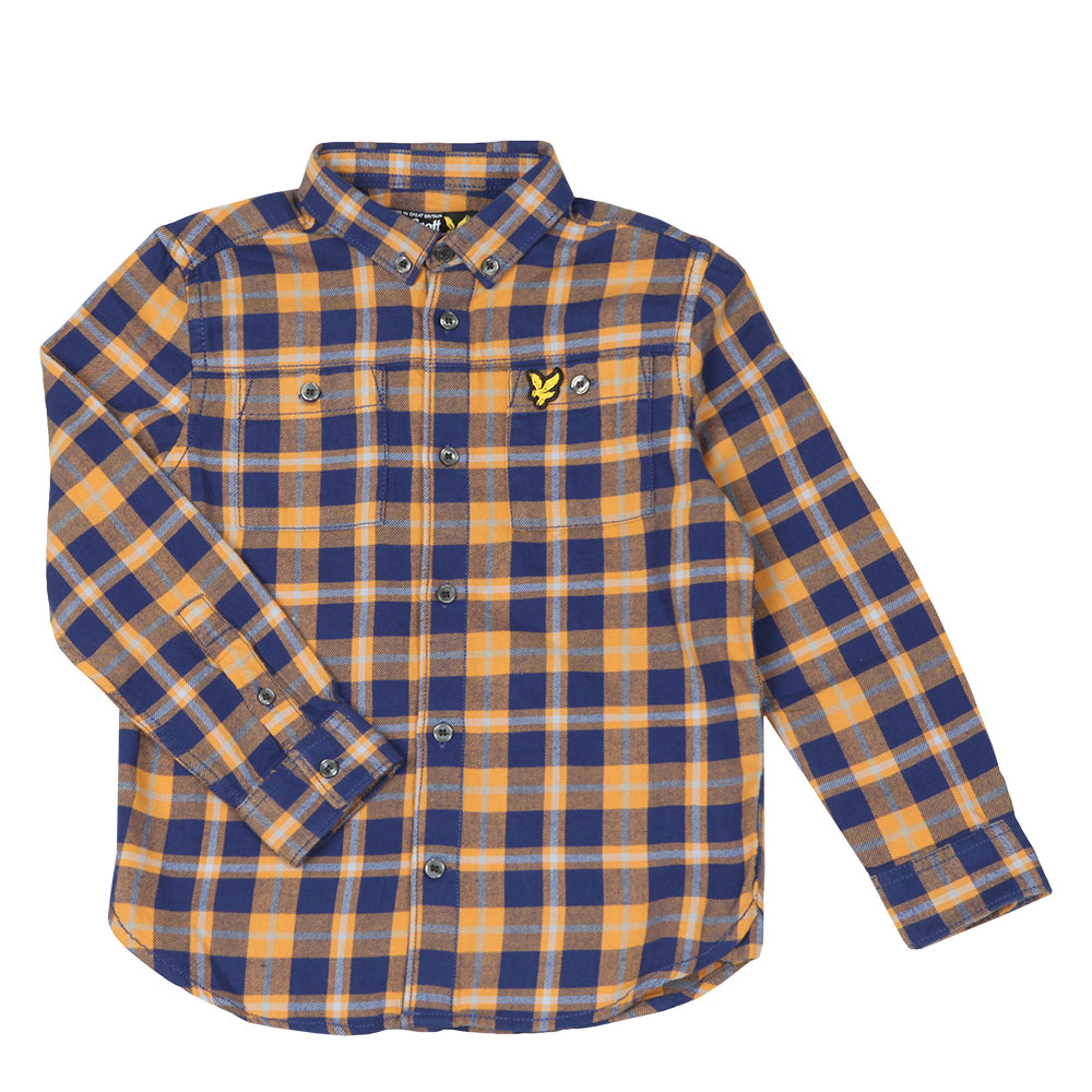 Brushed Twill Check Shirt main image