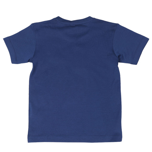 Paul & Shark Boys Blue Small Logo T Shirt