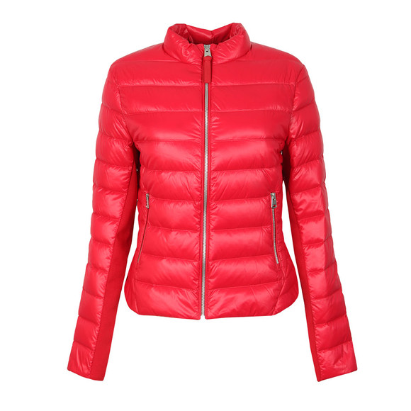 Mackage Womens Red Cindee Short Light Down Jacket