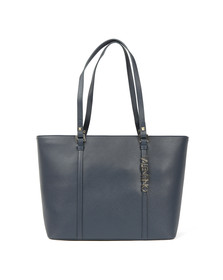 Valentino by Mario Womens Blue Sea Winter Tote Bag