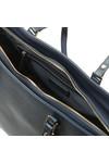 Valentino by Mario Womens Blue Sea Winter Tote Bag