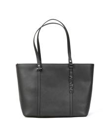 Valentino by Mario Womens Black Sea Winter Tote Bag