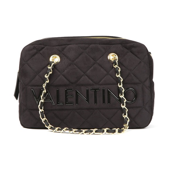 Valentino by Mario Womens Black Arrival Satchel Handbag main image