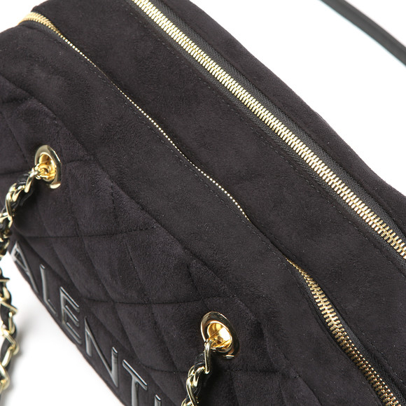 Valentino by Mario Womens Black Arrival Satchel Handbag main image