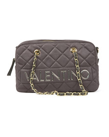 Valentino by Mario Womens Grey Arrival Satchel Handbag