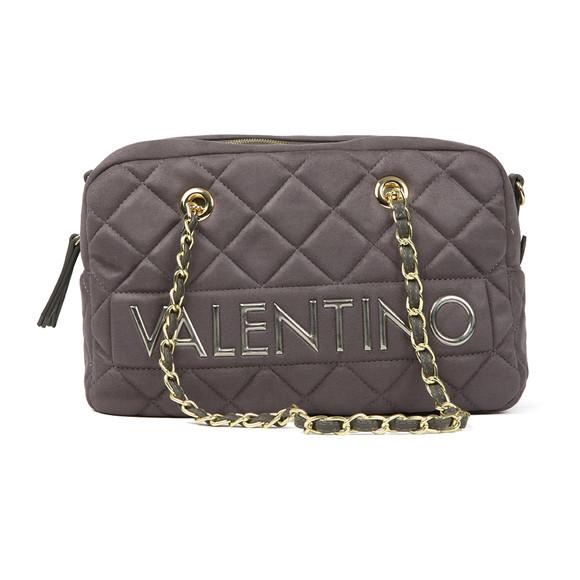 Valentino by Mario Womens Grey Arrival Satchel Handbag