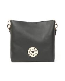 Valentino by Mario Womens Black Olympia Hobo Bag