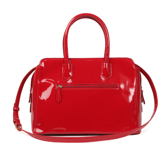 Valentino by Mario Womens Red Ribave Satchel Handbag main image