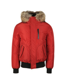 Mackage Mens Red Florian Down Jacket