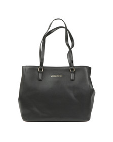 Valentino by Mario Womens Black Superman Tote Bag