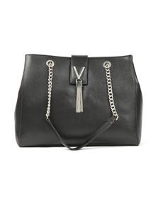 Valentino by Mario Womens Black Divina Tote Bag