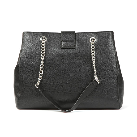 Valentino by Mario Womens Black Divina Tote Bag main image