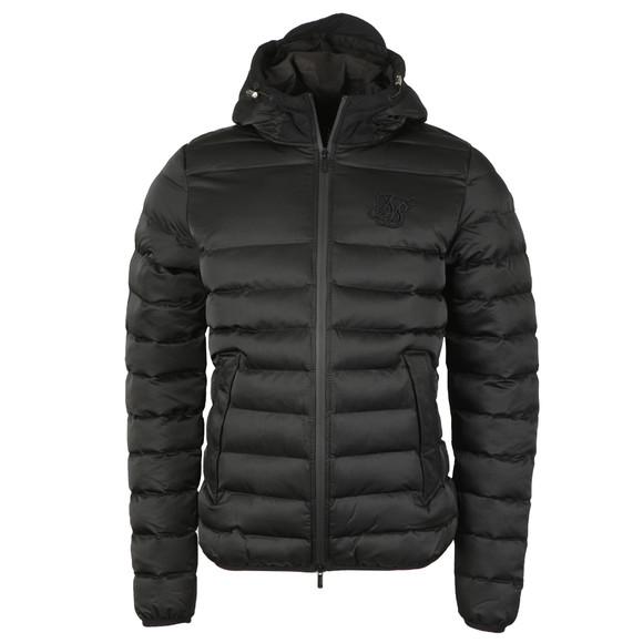 Sik Silk Mens Black Target Jacket main image