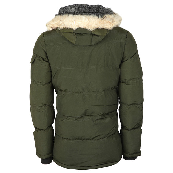 Sik Silk Mens Green Puff Parka main image