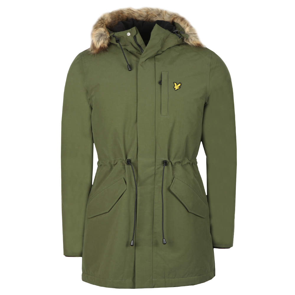 Winter Weight Microfleece Lined Parka main image