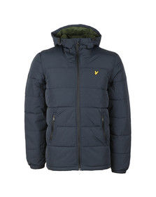 Lyle and Scott Mens Blue Wadded Jacket