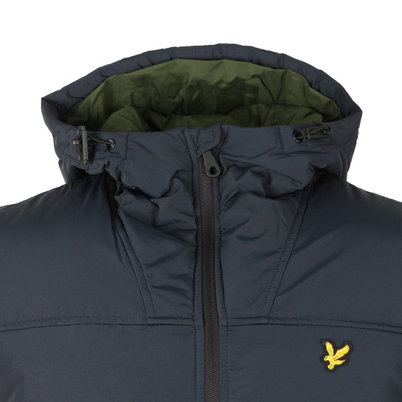 Lyle and Scott Mens Blue Wadded Jacket main image