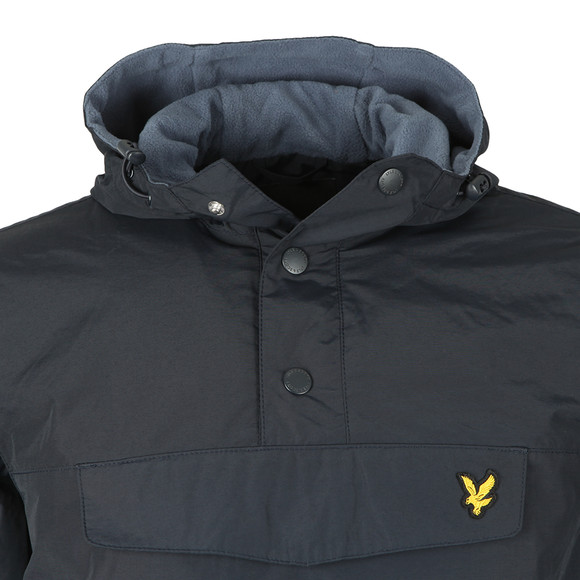 Lyle and Scott Mens Blue Overhead Anorak main image