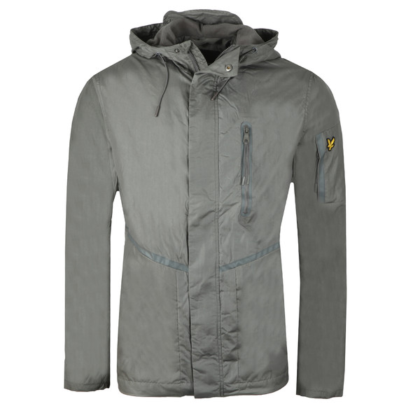 Lyle and Scott Mens Grey Casuals Jacket main image