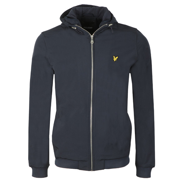 Lyle and Scott Mens Blue Softshell Jacket main image