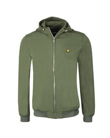 Lyle and Scott Mens Green Softshell Jacket