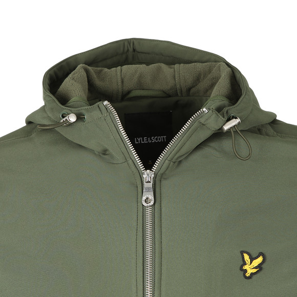 Lyle and Scott Mens Green Softshell Jacket main image