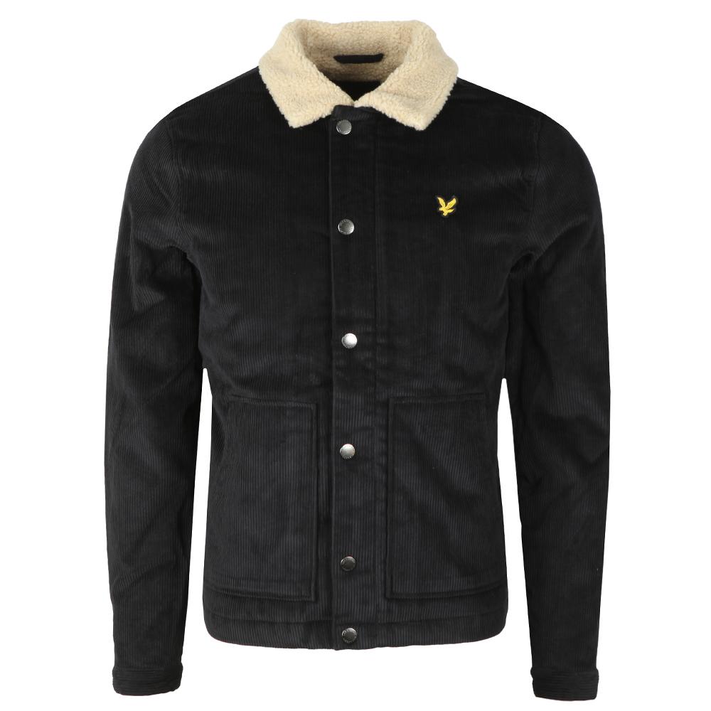 Jumbo Cord Shearling Jacket main image