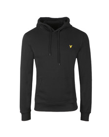 Lyle and Scott Mens Black Pullover Hoodie