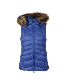 Barbour Lifestyle Womens Blue Bernera Gilet