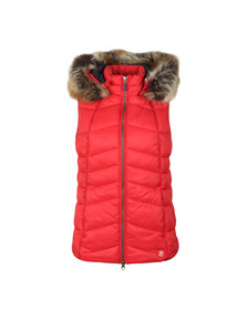Barbour Lifestyle Womens Red Bernera Gilet