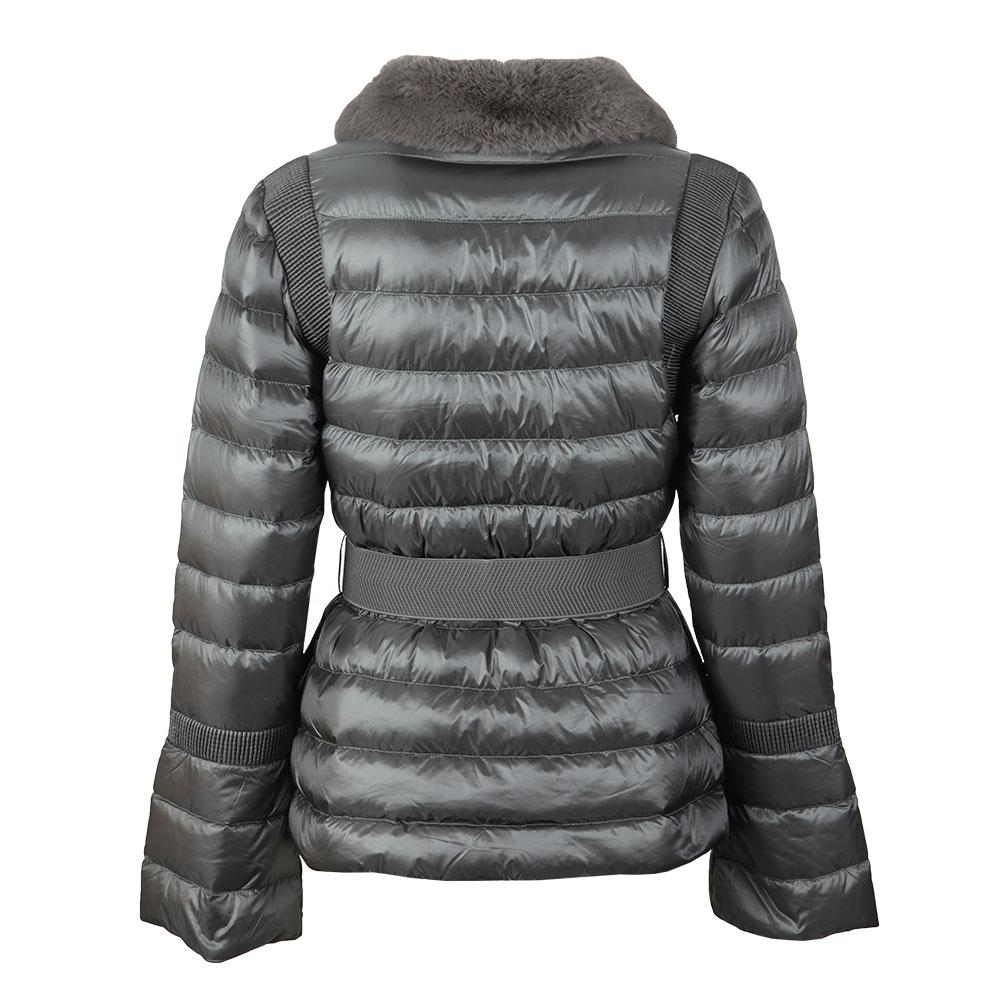Yelta Faux Fur Collar Down Jacket main image