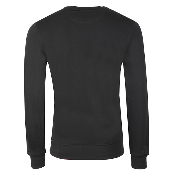 Lyle and Scott Mens Black Crew Neck Sweatshirt main image