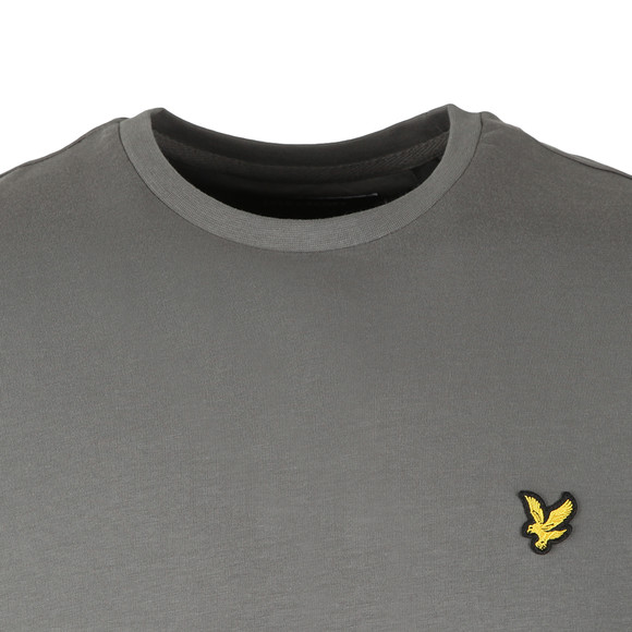 Lyle and Scott Mens Grey Basic Tee main image