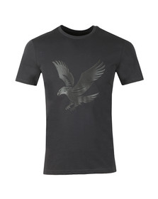 Lyle and Scott Mens Black Logo T-Shirt