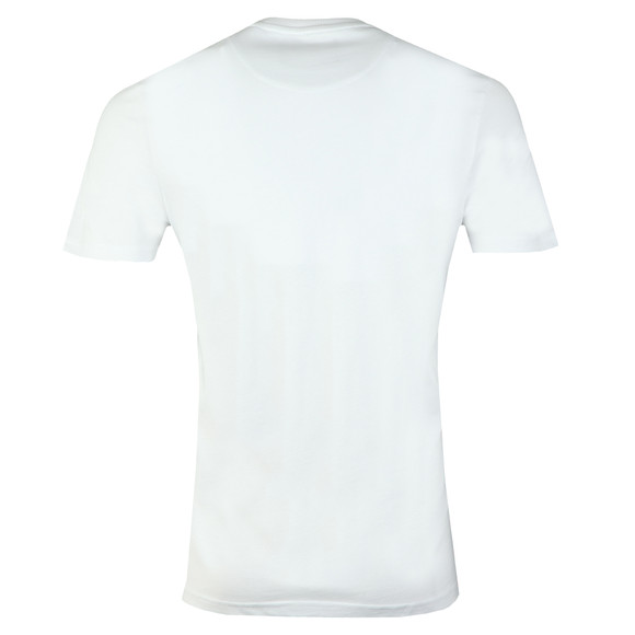 Lyle and Scott Mens White Logo T-Shirt main image