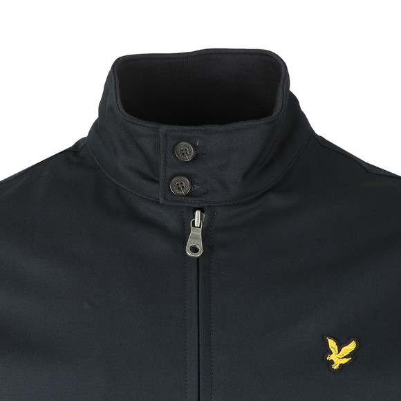 Lyle and Scott Mens Blue Harrington Jacket main image