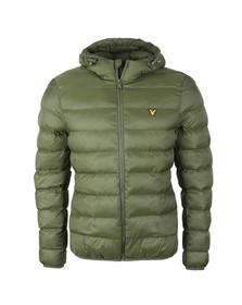 Lyle and Scott Mens Green Lightweight Puffer Jacket
