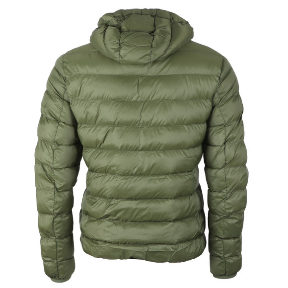 Lyle and Scott Mens Green Lightweight Puffer Jacket main image