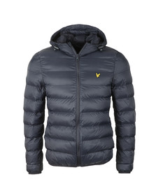 Lyle and Scott Mens Blue Lightweight Puffer Jacket