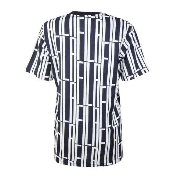 Fila Womens Blue Lia All Over Print T Shirt main image
